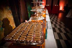 Dessert area. No cake. Lots of choices...smores!
