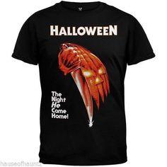 Halloween The Night He Came Home T Shirt Costume Michael Myers Movie Tee Horror  #HalloweenTheNightHeCameHome #Halloween