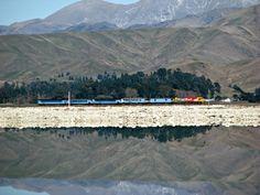 Neuseeland Bahnreise - Mit dem Zug durch Neuseeland