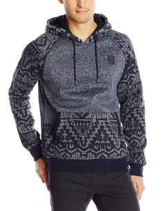 Amazon.com: Southpole Men's Marled Pull Over Hoodie with Hood Arms and Pocket: Clothing