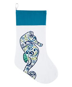 Another great find on #zulily! Seahorse Stocking #zulilyfinds