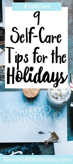 If you have trouble celebrating the holidays here are some tips on taking care of yourself. #holiday #selfcare