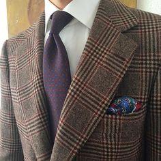 Prince Of Wales @huddersfieldcloth @yukiinouemilano #bespoke #bespoketailoring #tailoring #tailored #classicmenswear #sartoriayukiinouemilano #classicstyle #artisan #artisanmade #handmade #sartorial #fattoamano #sumisura #sarto #dapper #gentlemen #menswear #styleforum #suit #british #glenplaid #tieporn