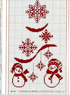Snowflakes and Santa cross stitch Xmas Cross Stitch, Cross Stitch Charts, Cross Stitch Designs, Cross Stitching, Cross Stitch Embroidery, Embroidery Patterns, Cross Stitch Patterns, Theme Noel, Christmas Embroidery