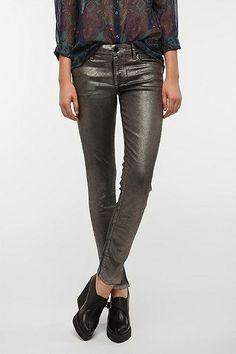 BDG Foil Twig Mid-Rise Jean