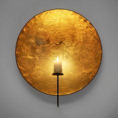 Goldlicht Sonne Teellicht- und Kerzenleuchter