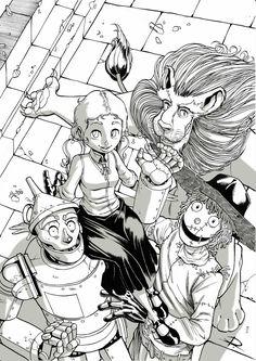 The wizard of Oz #ruggine