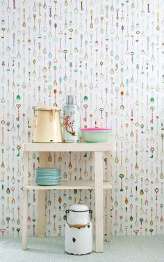 studio ditte / Teaspoons Wallpaper