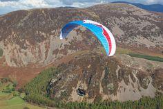 Para Glider over Ennerdale