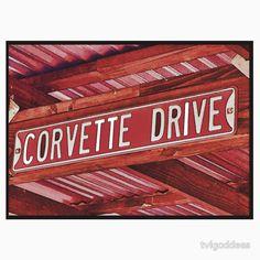 Corvette Drive T-Shirts Or Hoodies.