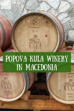 A visit to Popova Kula winery in Demir Kapija, Macedonia, is the perfect way to spend an afternoon. Europe Travel Tips, European Travel, Places To Travel, Travel Advice, Amazing Destinations, Travel Destinations, Travel Around The World, Around The Worlds, Wine Tourism