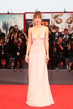 Is Dakota Johnson Channeling Gwyneth Paltrow's '90s Red Carpet Style?