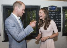 Britain's Prince William and Catherine, Duchess of Cambridge, visit Healey's Cornish Cider Farm near Newquay in Britain September 1, 2016. REUTERS/Arthur Edwards/Pool  via @AOL_Lifestyle Read more: https://www.aol.com/article/entertainment/2017/02/22/the-real-reason-duchess-kate-and-prince-william-dont-hold-hands/21719508/?a_dgi=aolshare_pinterest#fullscreen