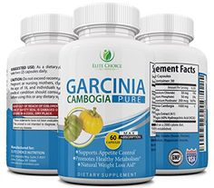 Garcinia Cambogia Safe  Effective 1000mg Per Serving  100 Pure Natural Weight Loss Supplement  Powerful Appetite Suppressant  Burn Fat Faster  Feel More Energized Advanced Slimming -- BEST VALUE BUY on Amazon #OrganicAppleCiderVinegar