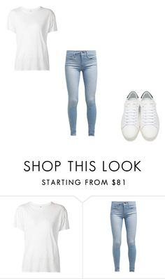 """""""X"""" by xyoumakemesmilex ❤ liked on Polyvore featuring R13, Levi's and Yves Saint Laurent"""