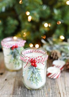 Candy canes are a holiday staple, and scenting your home with this energizing candy cane candle is a must! Natural peppermint oils feel like a fresh North Pole breeze is knocking at your door.