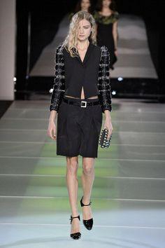 Giorgio Armani A/W 2014 Milan Fashion Week Show