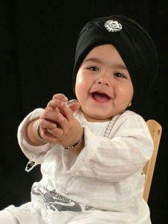 Cute sikh kid