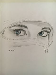 i drawn this eyes in my free time