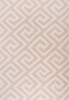 Layered's Greek Key Powder Pink rug has a traditional greek key pattern. Used by the ancient Greeks already, it is a timeless piece of design. The pattern got its name from the square pieces in the pattern that look rather like keys. Worldwide free shipping. See more at: http://layeredinterior.com/product/greek-key/#sthash.o5diNMQo.dpuf