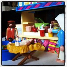 Organisatie in #Bethlehem is top! #christmas #playmobil #resort #icecream