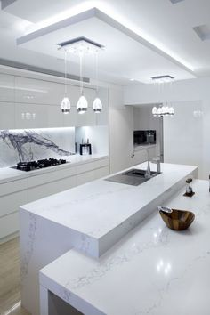 The 21 Best Ideas for Modern Kitchen Design - Best Home Ideas and Inspiration - . - The 21 Best Ideas for Modern Kitchen Design – Best Home Ideas and Inspiration – white kitchen d - Luxury Kitchen Design, Kitchen Room Design, Luxury Kitchens, Home Decor Kitchen, Interior Design Kitchen, Home Design, Kitchen Ideas, Design Ideas, Kitchen Inspiration