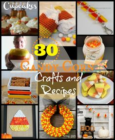 30 candy corn recipes and crafts!