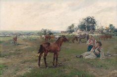 Silent witness of love by Jaroslav Věšín, 1890/1900. Slovak national gallery, CC BY