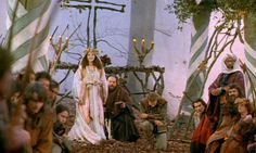 Forest Wedding in Prince of Thieves