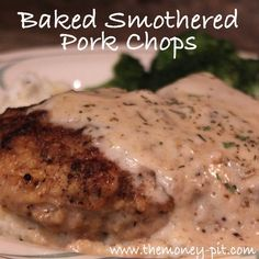 The Kim Six Fix: Southern Style Smothered Pork Chops (Baked) these were Really good even made my gravy with out the white wine bc I didn't have any still really good.