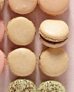 Toasted Hazelnut and Chocolate Macarons Recipe