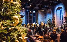 4 Places to experience the Ultimate Christmas - Hogwarts Great Hall Dinner Harry Potter