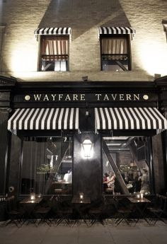 Wayfare Tavern~sat at the bar and had great drinks and nibbles~will get the fried chicken next time! Cafe Bar, Cafe Restaurant, Restaurant Design, Cafe Design, Store Design, Wayfare Tavern San Francisco, Coffee Shop, Café Bistro, Cidades Do Interior