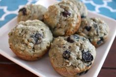 Made with simple and healthy ingredients, these blueberry yogurt muffins are the perfect snack or breakfast on-the-go for the entire family!