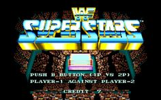 Retro Game Review – WWF Superstars – The Video Game Almanac