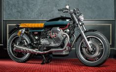 1992 MOTO GUZZI CALIFORNIA 'CHAMPION' - MR MARTINI - INAZUMA CAFE RACER