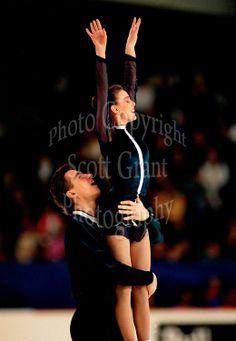Ekaterina Gordeeva and Sergei Grinkov Russia. 1993 Skate Canada. Photo F. Scott…