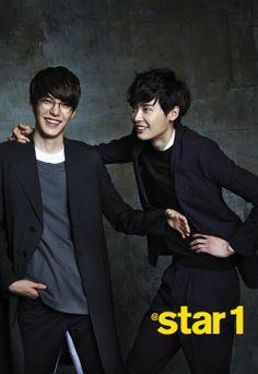 김우빈 (Kim Woobin), 이종석 (Lee Jongseok)