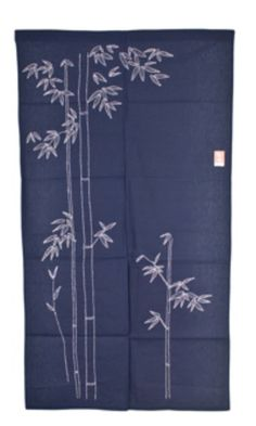 Japanese Noren with take pattern. (Bamboo).....v