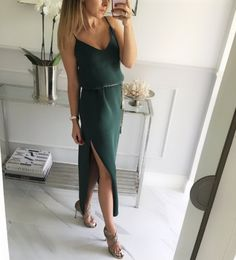 #morning #instamood #moda #outfit #fashion #instafashion #look #style #stylish #shopping #dress Mint_label_ #green #girl #sukienka dostępna rownież w kolorze czarnym