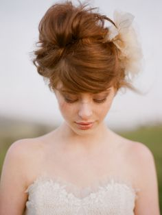 Elizabeth Messina is an amazing photographer and this hair is epic. Up Hairstyles, Pretty Hairstyles, Wedding Hairstyles, Bridal Hairstyle, Wedding Updo, Wedding Hair And Makeup, Hair Makeup, Blush Makeup, Wedding Hair Inspiration