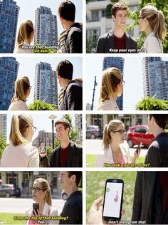 The Flash - Felicity and Barry #1.4 #Season1 ♥