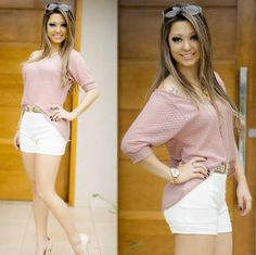 Cos Alto, Off White, Online Boutiques, White Shorts, Look, Html, Women, Fashion, Knitting Sweaters