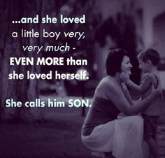 Mother son love