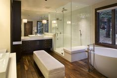 Lakeview Residence Bathroom - traditional - bathroom - chicago - Rugo/ Raff Ltd. Architects