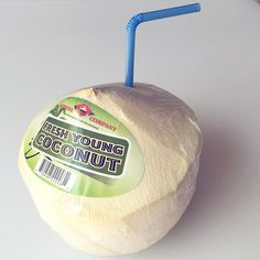 """You know how Vita Coco likes to say drinking their coconut water is like """"sticking a straw in a coconut?"""" Well it's not. Sure coconut water from a carton/bottle beats drinking a soda but nothing beats actually sticking a straw in a real coconut. I get these at the local Asian store for super cheap--way cheaper than buying pre-packaged coconut water at the regular grocery store. So check out your local Asian grocer! The health benefits of real coconut water are amazing. In my opinion the…"""