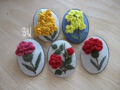 0번째 이미지 Hobbies And Crafts, Diy And Crafts, Embroidery Patterns, Hand Embroidery, Covered Buttons, Quilling, Creations, Cross Stitch, Textiles