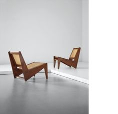 designed for private residences, Chandigarh by Pierre Jeanneret sold at Design Day Sale on London Day Sale 28 April 2015 Learn more about the piece and artist, and its final selling price Low Chair, Pierre Jeanneret, Le Corbusier, Chandigarh, Chairs, Search, Furniture, Design, Home Decor