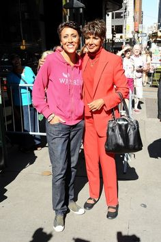Robin Roberts & Her Sister