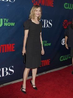 Calista Flockhart At The CBS, CW And Showtime 2015 Summer TCA Party